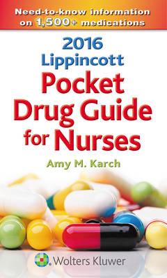 2016 Lippincott Pocket Drug Guide for Nurses (Paperback)