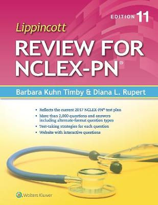 Lippincott Review for NCLEX-PN (Paperback)