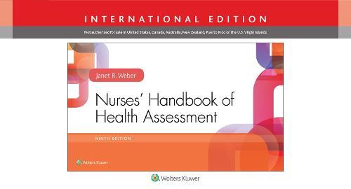 Nurses' Handbook of Health Assessment (Spiral bound)