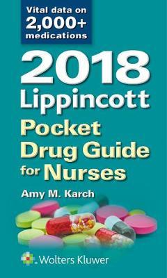 2018 Lippincott Pocket Drug Guide for Nurses (Paperback)