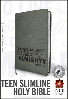 NLT Teen Slimline Bible: 1 Corinthians 13 (Leather / fine binding)