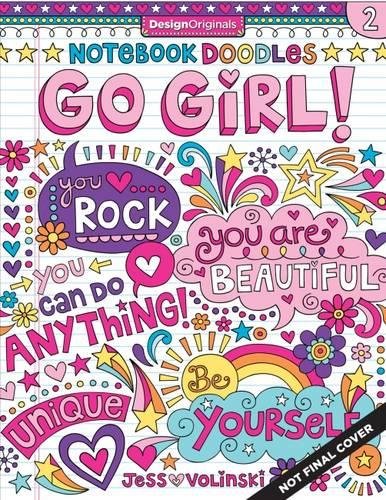 Notebook Doodles Go Girl! (Paperback)