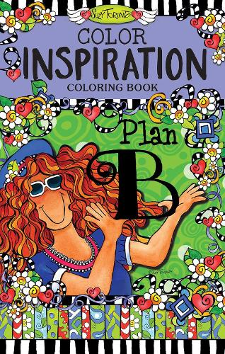 Color Inspiration Coloring Book (Paperback)