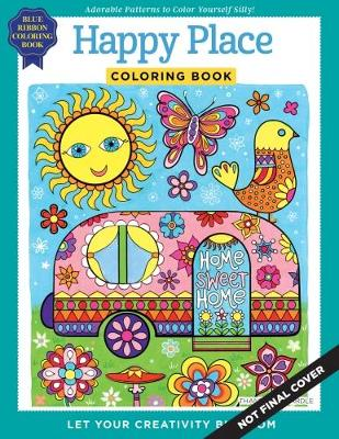 Happy Place Coloring Book Paperback