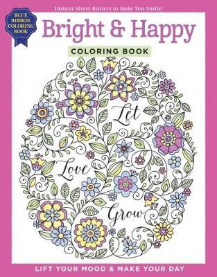 Bright & Happy Coloring Book (Paperback)