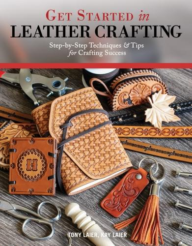Get Started in Leather Crafting (Paperback)