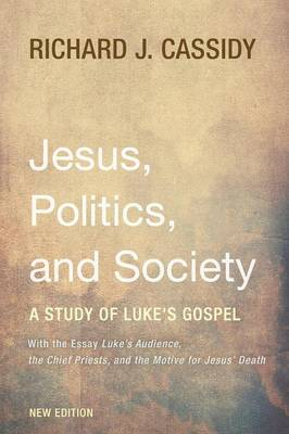 Jesus, Politics, and Society (Paperback)