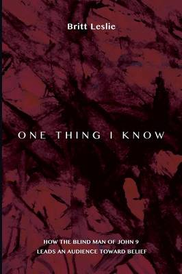 One Thing I Know (Paperback)
