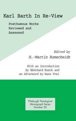Karl Barth in Re-View (Hardback)
