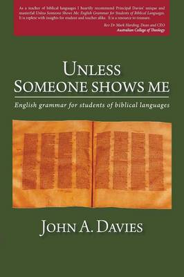 Unless Someone Shows Me (Paperback)