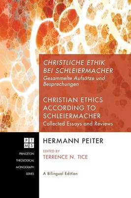 Christliche Ethik Bei Schleiermacher - Christian Ethics According to Schleiermacher (Hardback)