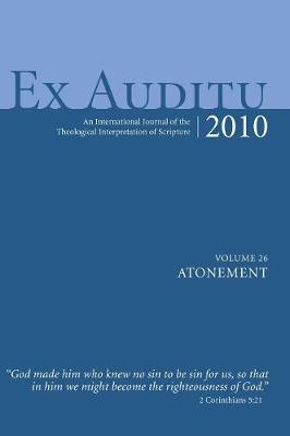Ex Auditu - Volume 26 (Hardback)