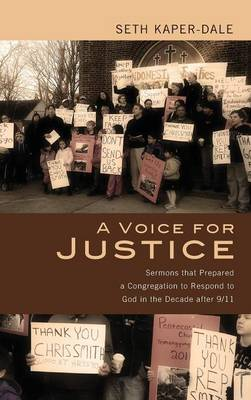 A Voice for Justice (Hardback)