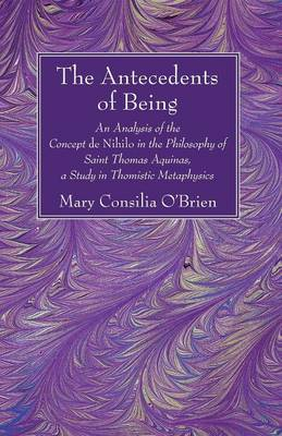 The Antecedents of Being (Paperback)