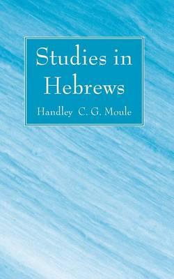 Studies in Hebrews (Paperback)