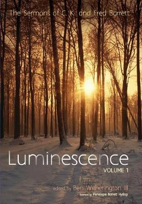 Luminescence, Volume 1 (Paperback)