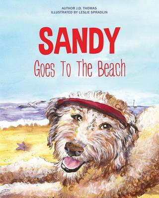 Sandy Goes to the Beach (Paperback)