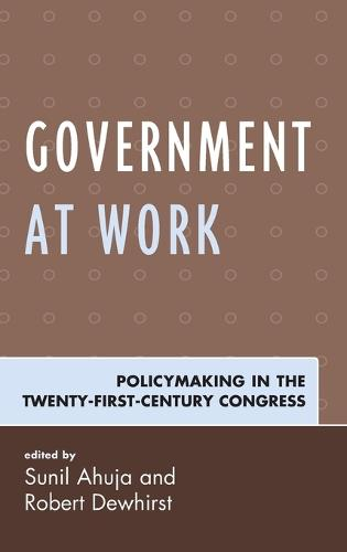 Government at Work: Policymaking in the Twenty-First-Century Congress (Hardback)
