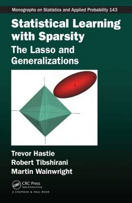 Statistical Learning with Sparsity: The Lasso and Generalizations - Chapman & Hall/CRC Monographs on Statistics and Applied Probability (Hardback)