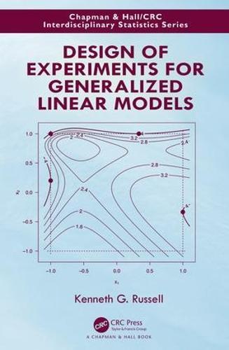 Design of Experiments for Generalized Linear Models - Chapman & Hall/CRC Interdisciplinary Statistics (Hardback)