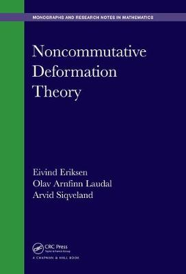 Noncommutative Deformation Theory - Chapman & Hall/CRC Monographs and Research Notes in Mathematics (Hardback)