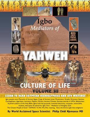 Igbo Mediators of Yahweh Culture of Life: Volume III: Learn to Read Egyptian Hieroglyphics and UFO Writings (Paperback)