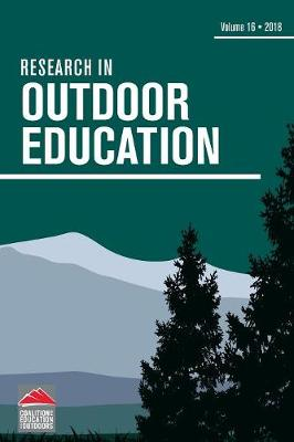 Research in Outdoor Education: Volume 16 - Research in Outdoor Education (Paperback)