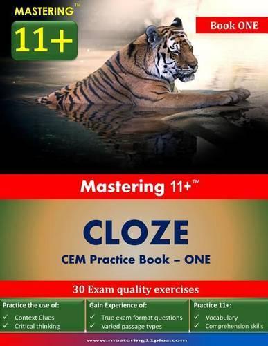 Mastering 11+ Cloze Practice Book 1 (Paperback)