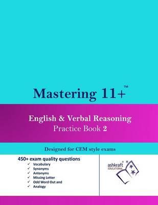 Mastering 11+ English & Verbal Reasoning Practice Book 2 (Paperback)