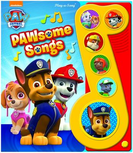 PAW Patrol - Pawsome Songs - Little Music Note (Hardback)