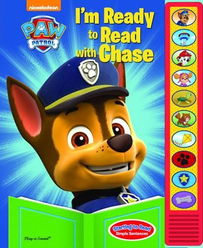 PAW Patrol - I'm Ready to Read with Chase (Hardback)