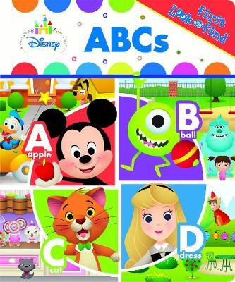 Disney Baby Abcs First Look & Find (Hardback)