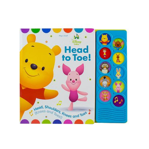 Disney Baby Listen & Learn Winnie Pooh (Hardback)