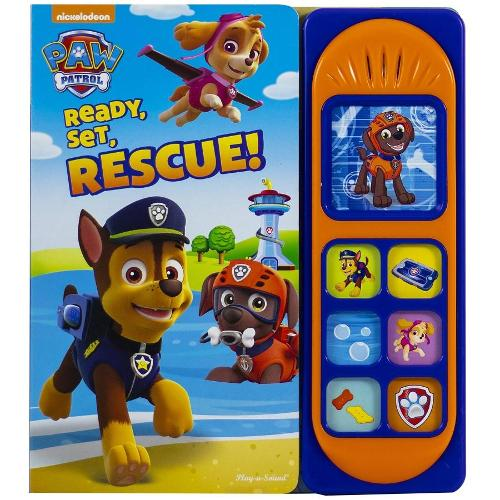 Paw Patrol Ready Set Rescue Sound Book (Hardback)