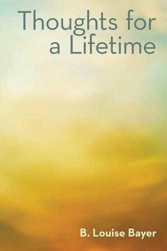 Thoughts for a Lifetime (Paperback)