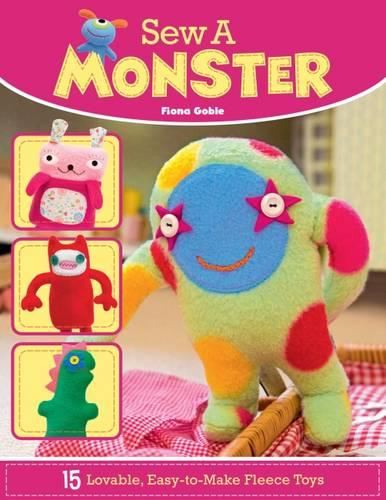 Sew a Monster (Paperback)