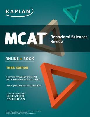 MCAT Behavioral Sciences Review: Online + Book (Paperback)