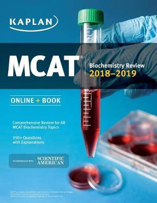 MCAT Biochemistry Review 2018-2019: Online + Book (Paperback)
