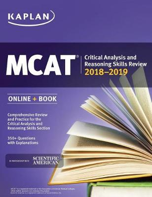 MCAT Critical Analysis and Reasoning Skills Review 2018-2019: Online + Book (Paperback)