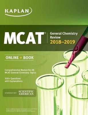 MCAT General Chemistry Review 2018-2019: Online + Book (Paperback)
