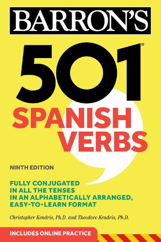 501 Spanish Verbs - Barron's 501 Verbs (Paperback)
