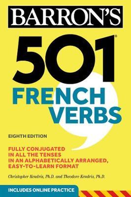 501 French Verbs - Barron's 501 Verbs (Paperback)