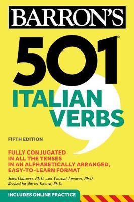 501 Italian Verbs - Barron's 501 Verbs (Paperback)