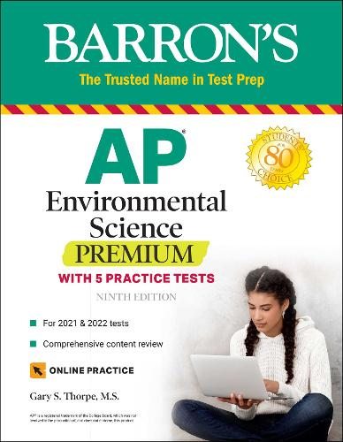 AP Environmental Science Premium: With 5 Practice Tests - Barron's Test Prep (Paperback)