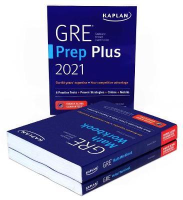GRE Complete 2021: 3-Book Set: 6 Practice Tests + Proven Strategies + Online - Kaplan Test Prep (Paperback)