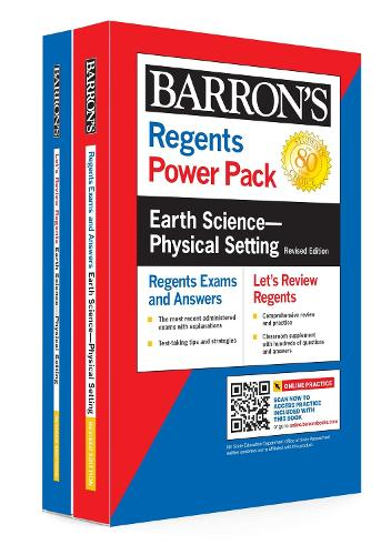 Regents Earth Science--Physical Setting Power Pack Revised Edition - Barron's Regents NY (Paperback)