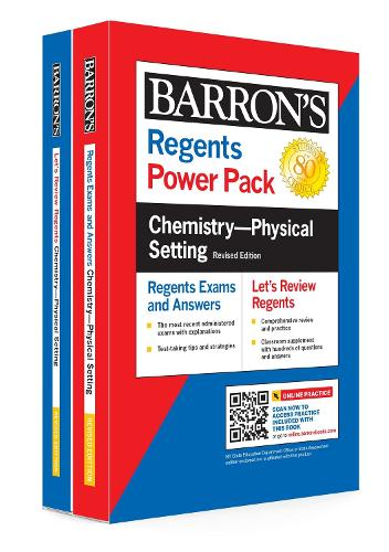 Regents Chemistry--Physical Setting Power Pack Revised Edition - Barron's Regents NY (Paperback)
