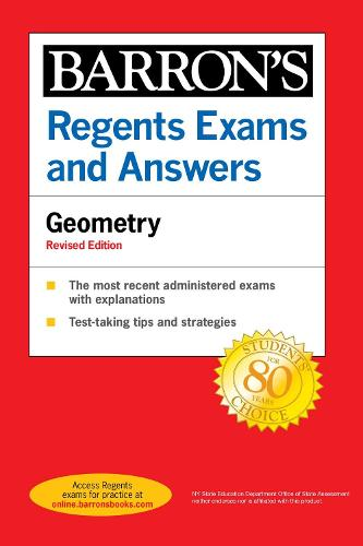 Regents Exams and Answers Geometry Revised Edition - Barron's Regents NY (Paperback)