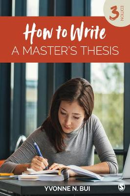 How to Write a Master's Thesis (Paperback)