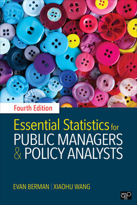 Essential Statistics for Public Managers and Policy Analysts (Paperback)